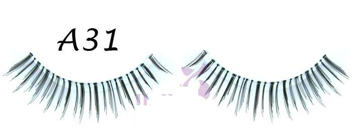 Sexy Hand Made Lashes In Natural Length Used For Party #A31