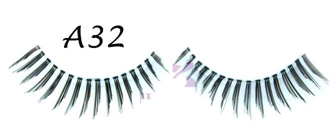 Sweeping Hand-tied eyelashes Used For Daily Life #A32